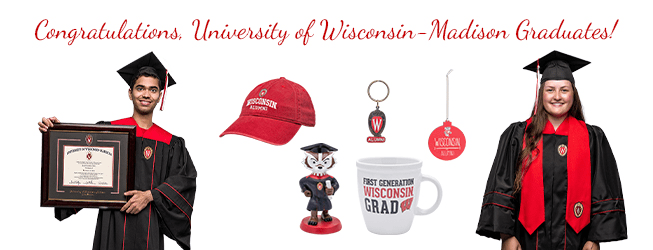 Congratulations, University of Wisconsin-Madison Graduates!
