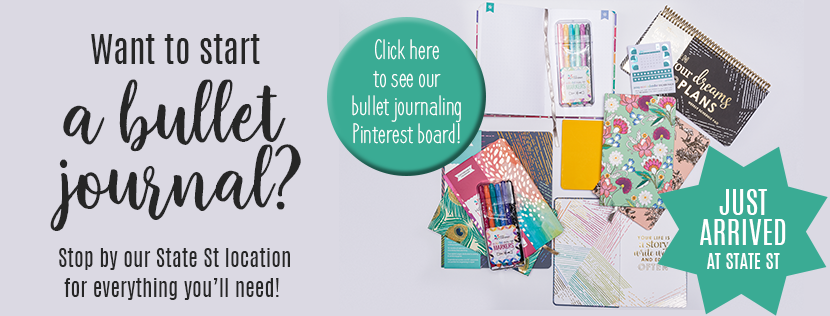 JUST ARRIVED! Bullet Journaling Supplies