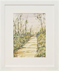 Framed Watercolor