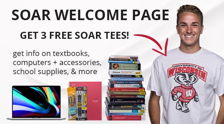 SOAR Welcome - Get 3 Free SOAR Tees!